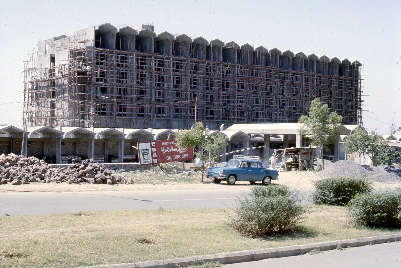 Marriot Hotel, Islamabad in 1977